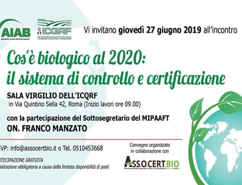 """""""Cos'è Biologico al 2020"""": una campagna per i valori del bio."""