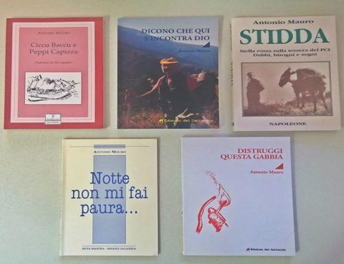 Pubblicata l'ultima fatica letteraria dell'associato AIAB Calabria Totò Mauro