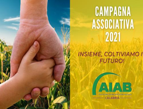 CAMPAGNA ASSOCIATIVA 2021 AIAB CALABRIA